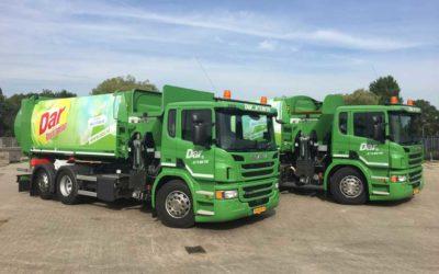 DAR Nijmegen neemt twee nieuwe SLF zijladers op CNG in gebruik
