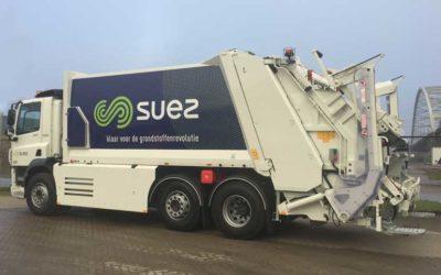 Nieuwe voertuigen voor SUEZ
