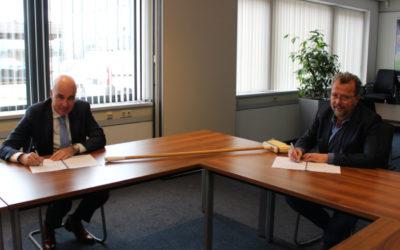 Ondertekening Raamovereenkomst RMN – Haller Benelux